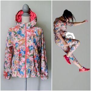 Rare Lululemon Seawheeze Pack It Up Jacket Floral